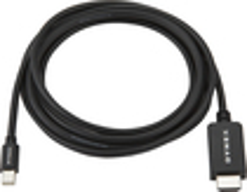 Dynex™ - 6' Mini DisplayPort-to-HDMI Cable - Black