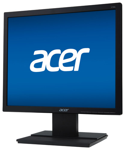 Acer - 19 LED Monitor - Black