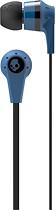 Skullcandy - Ink'd Stereo Ear Bud Headphones - Metallic Blue