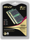 PNY - Optima 2-Pack 2GB PC2-5300 DDR2 SO-DIMM Memory - Multi