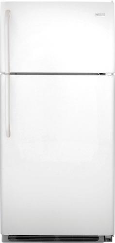 Frigidaire - 18.2 Cu. Ft. Top-Freezer Refrigerator - White