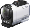 Sony - AZ1V HD Mini Action Cam - White