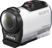 Sony - AZ1VR HD Mini Action Cam with Remote - White