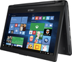"Asus - 2-in-1 13.3"" Touch-Screen Laptop - Intel Core i3 - 6GB Memory - 500GB Hard Drive - Aluminum Black"