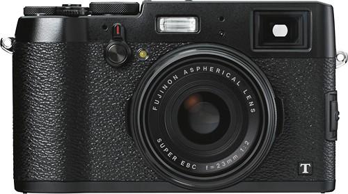 Fujifilm - X100T 16.3-Megapixel Digital Camera - Black