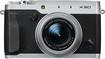 Fujifilm - X30 12.0-Megapixel Digital Camera - Silver