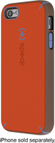 Speck - Mightyshell Case for Apple® iPhone® 5 and 5s - Orange