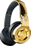 Monster - 24k Over-the-Ear DJ Headphones - Gold/Black