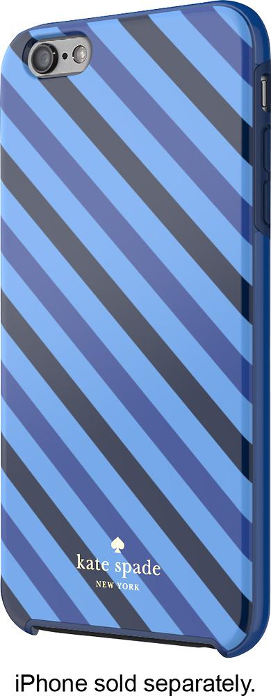 kate spade new york - Diagonal Stripe Hybrid Hard Shell Case for Apple® iPhone® 6 Plus - Blue