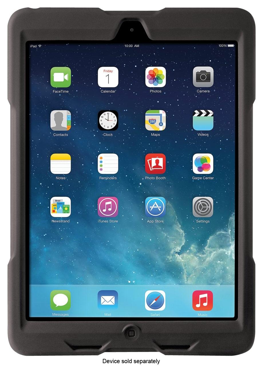 Kensington - BlackBelt 1st Degree Rugged Case for Apple® iPad® Air - Black