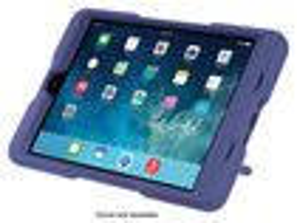 Kensington - BlackBelt 2nd Degree Rugged Case for Apple® iPad® mini - Plum