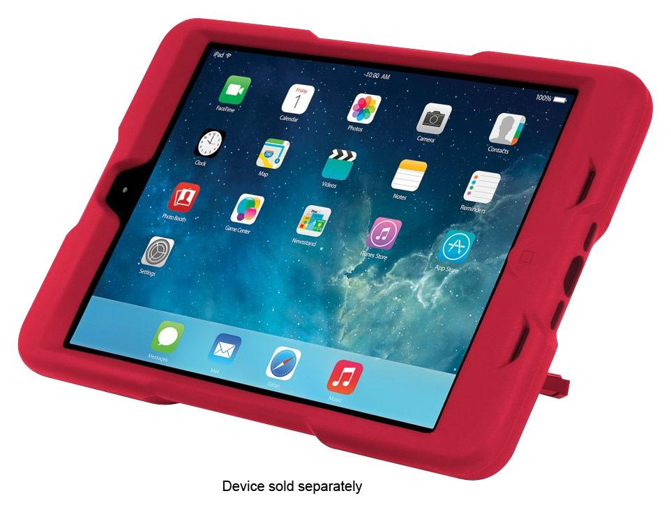 Kensington - BlackBelt 2nd Degree Rugged Case for Apple® iPad® mini - Red