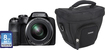 Fujifilm - FinePix S9250 16.2-Megapixel Digital Camera Bundle - Black