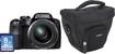 Fujifilm - FinePix S9250 16.2-Megapixel Digital Camera Bundle - Black