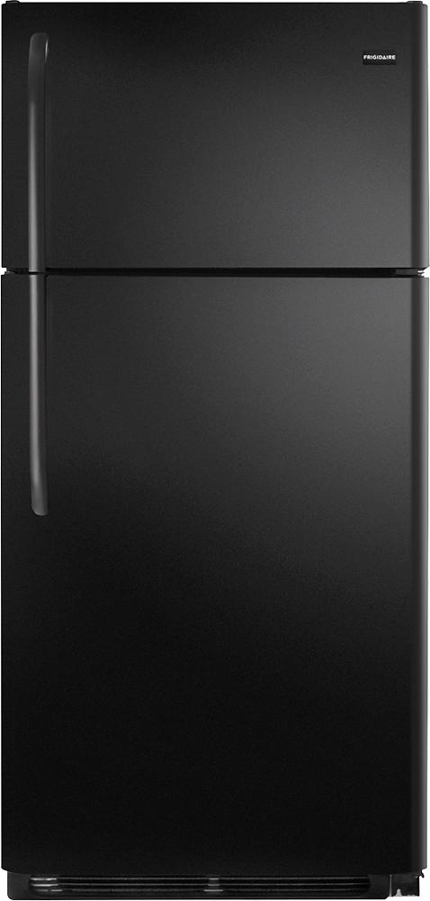 Frigidaire - 18.0 Cu. Ft. Top-Freezer Refrigerator - Black