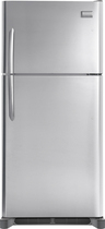 Frigidaire - 18.0 Cu. Ft. Frost-Free Top-Freezer Refrigerator - Stainless