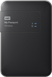 WD - My Passport 2TB External Wireless/USB 3.0/2.0 Portable Hard Drive - Black