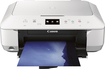 Canon - PIXMA MG6620 Wireless Inkjet Photo All-In-One Printer - White