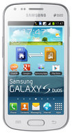 Samsung - Galaxy S Duos S7562 Cell Phone (Unlocked) - White