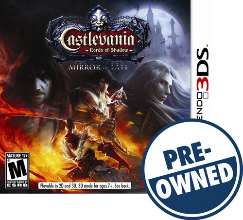 Castlevania: Lords of Shadow - Mirror of Fate - PRE-Owned - Nintendo 3DS