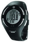 Soleus - GPS Pulse Watch with Heart Rate Monitor - Black/White