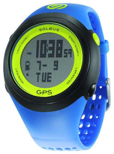 Soleus - GPS FIT Sport Watch - Blue/Black/Lime