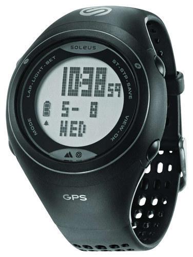 Soleus - GPS Cross Country Watch - Black/Gray