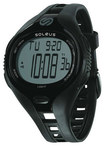 Soleus - Dash Large Running Watch - Black