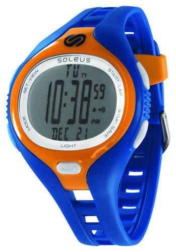 Soleus - Dash Large Running Watch - Blue