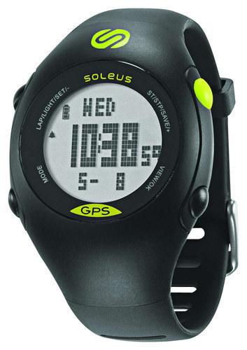Soleus - Mini GPS Watch - Black/Lime