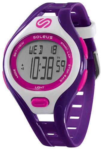 Soleus - Dash Small Running Watch - Purple