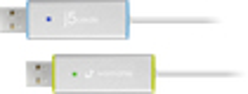 j5 create - USB 3.0 Wormhole Switch DSS - White