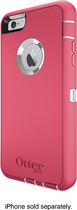 OtterBox - Defender Series Case with Holster for Apple® iPhone® 6 Plus - Neon Rose