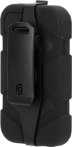 Griffin Technology - Survivor Case for Apple® iPhone® 4 and 4S - Black