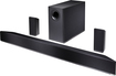 "VIZIO - 5.1 Channel Soundbar System with Bluetooth and 6"" Wireless Subwoofer - Black"