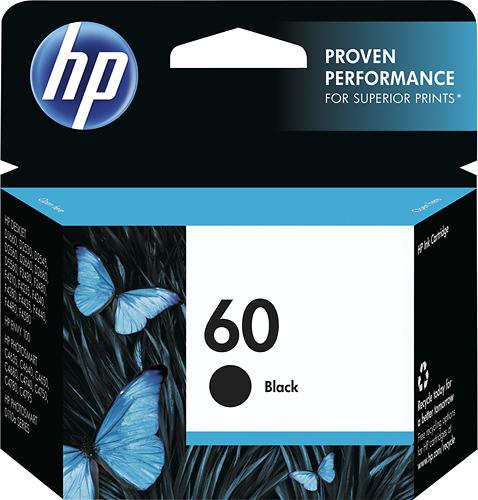 HP - 60 Ink Cartridge - Black
