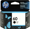 HP - 60 Black Original Ink Cartridge - Black