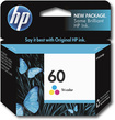 HP - 60 Ink Cartridge - Cyan/Magenta/Yellow