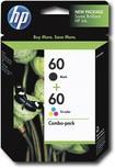 HP - 60 2-Pack Ink Cartridges - Black/Cyan/Magenta/Yellow
