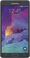 Samsung - Galaxy Note 4 4G Cell Phone - Charcoal Black (AT&T)