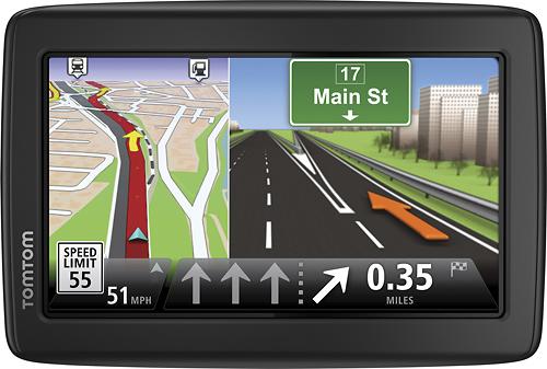 Tomtom Via M  Gps With Lifetime Map Updates Multi En Best Buy