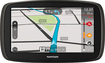 "TomTom - GO 60 6"" GPS with Built-In Bluetooth and Lifetime Map Updates - Black/Gray"