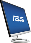 "Asus - 23"" IPS LED HD Monitor - Silver"