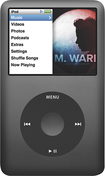 Apple® - iPod classic® 160GB* MP3 Player - Black