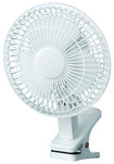 """Royal Sovereign - 6"""" Clip-On Fan - White"""