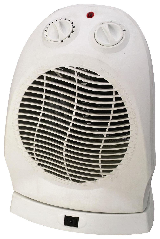 Royal Sovereign - Oscillating Fan Heater - White