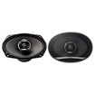 "Pioneer - 6"" x 9"" 2-Way Coaxial Speakers With KEVLAR¿ and Basalt Cone (Pair) - Black"