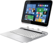 "HP - x2 2-in-1 13.3"" Touch-Screen Laptop - Wi-Fi + 4G LTE - Intel Core i3 - 4GB Memory - 500GB+8GB Hybrid Hard Drive - Snow White/Ash Silver"