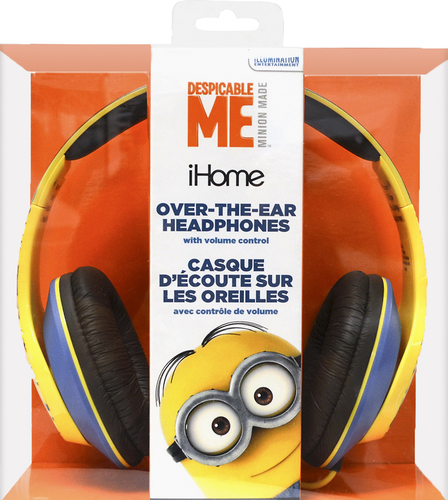KIDdesigns - Minions Over-the-Ear Headphones - Black