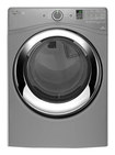 Whirlpool - Duet 7.4 Cu. Ft. 9-Cycle Steam Electric Dryer - Chrome Shadow